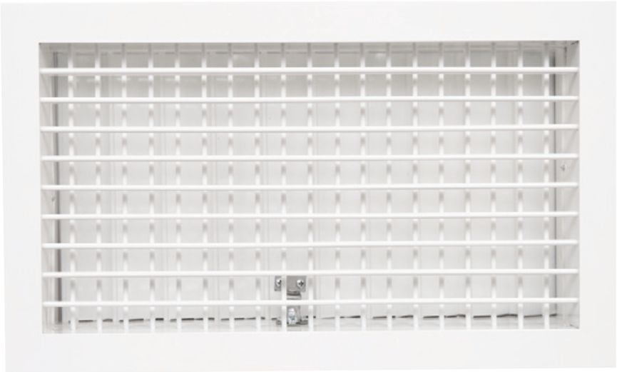 Double Deflection Blade Grille