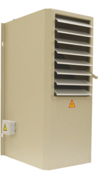 Unit Heater With Radial Fans